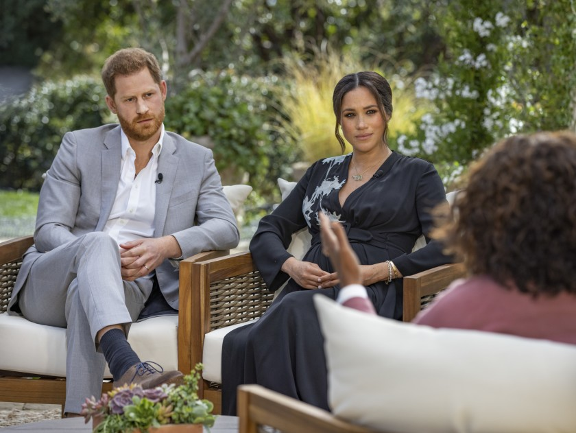 Oprah speaks with Meghan, The Duchess of Sussex and Prince Harry