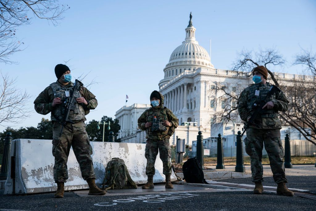 60-day extension of Guard at US Capitol