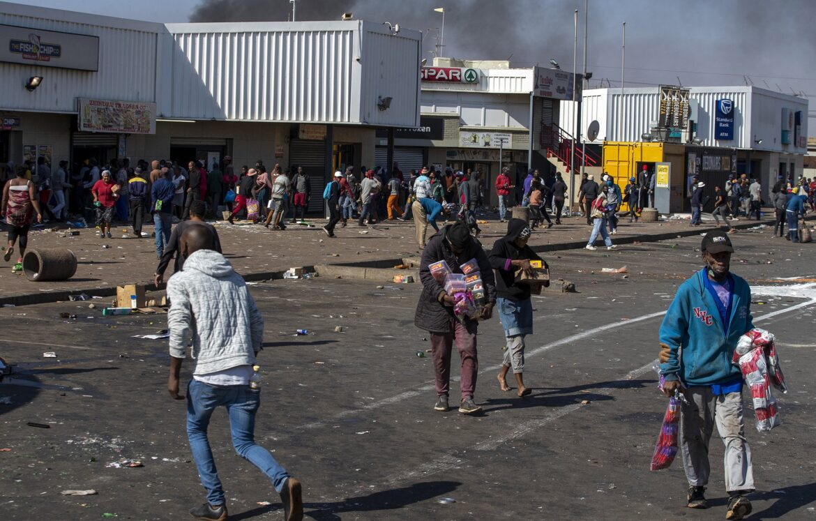 The South Africa Riots
