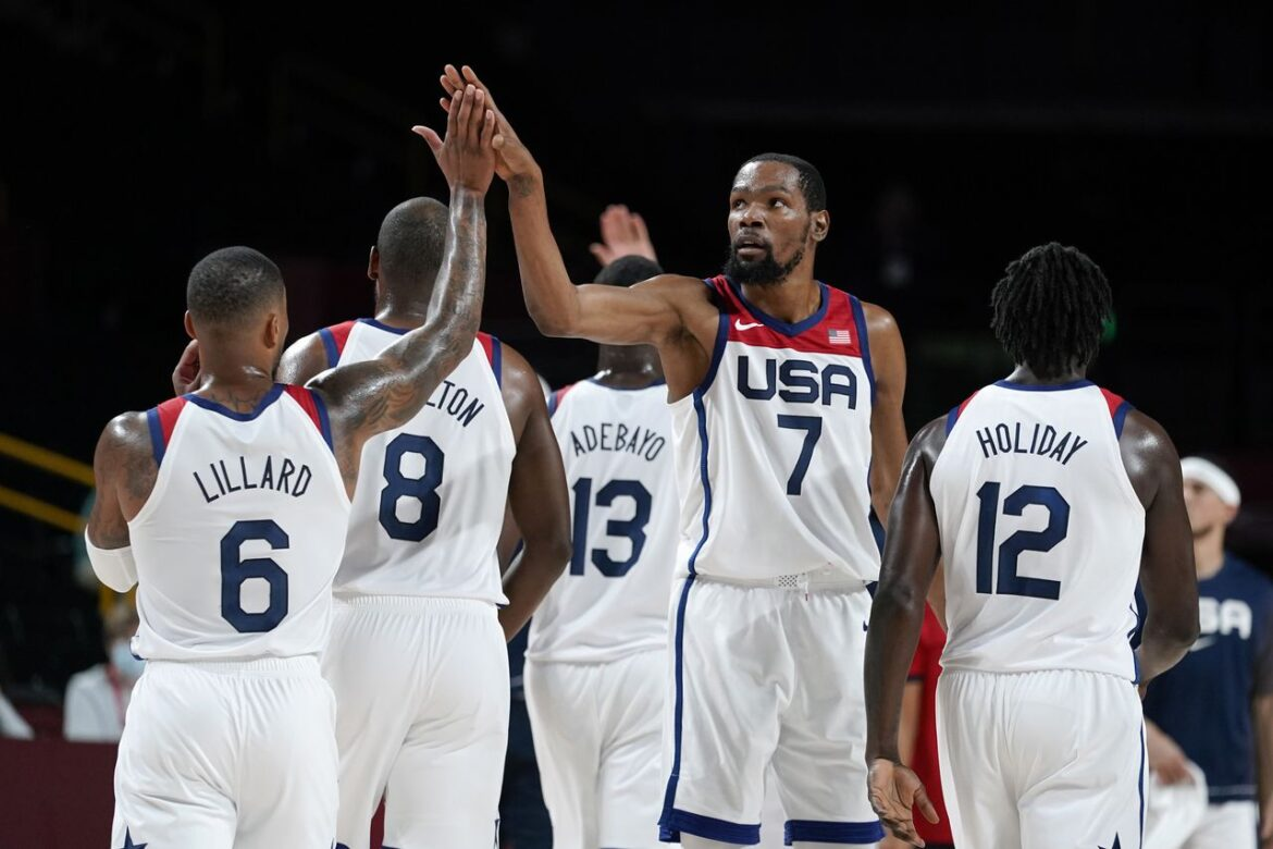 USA men's basketball beats France to win fourth straight gold medal