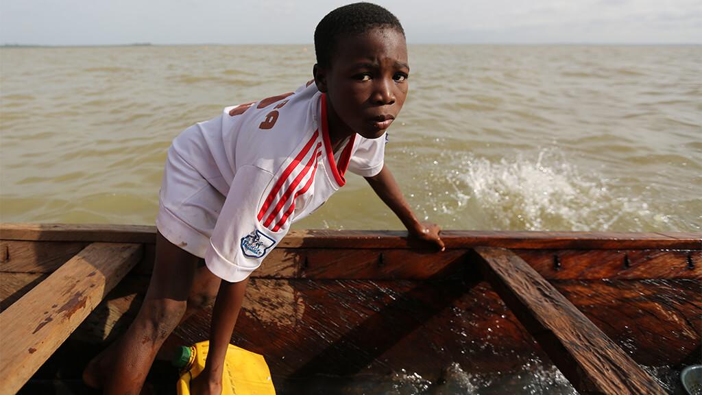 Ghana kids caught in the net of modern day slavery